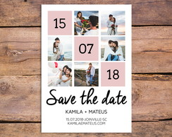 Arte Digital - Save the Date - 6 fotos