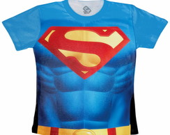 Camiseta Fantasia Super Man