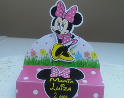 Porta Chocolate Duplo Minnie Rosa