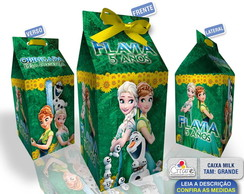 Caixa Milk Grande - Frozen Fever
