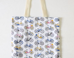 Eco Bag - Estampa 'Bicicletas'