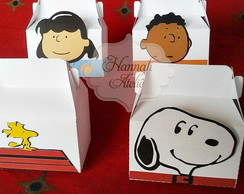 Caixa Turma do Snoopy