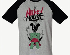 Camiseta Raglan SWAG Nickey Mouse Mickey