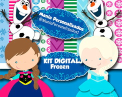 KIT DIGITAL FROZEN CUTE !