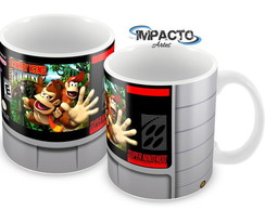 Caneca Cartucho do Super Nintendo