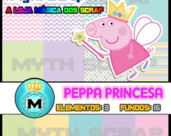 Kit Digital Scrapbook PEPPA PRINCESA