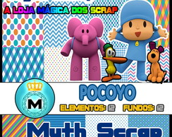 Kit Digital Scrapbook POCOYO