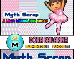 Kit Digital Scrapbook DORA BAILARINA