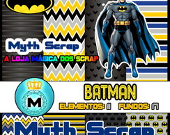 Kit Digital Scrapbook BATMAN