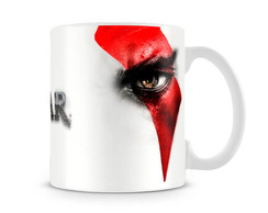 Caneca God of War Kratos Eyes II