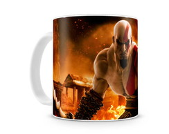 Caneca God of War Kratos I
