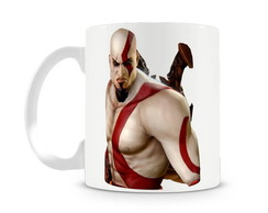 Caneca God of War Kratos III