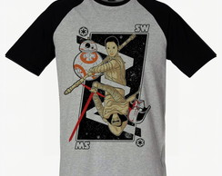 Camiseta Raglan SWAG Star Wars Geek