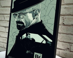 Poster / Quadro A4 Breaking Bad