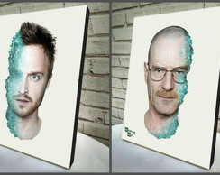 Poster/Quadro A4 2 pçs Breaking Bad