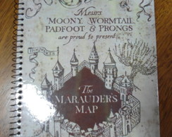 Caderno Harry Potter map 10 mat