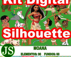 Kit Digital + Silhouette Moana