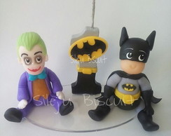 mini vela batman e coringa
