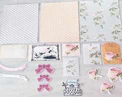 KIT SCRAPBOOK VINTAGE