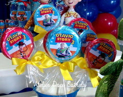 Pirulitos de chocolate do Toy Story