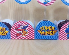 Forminha para doces Super Wings