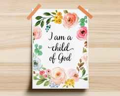 Poster I Am A Child Of God