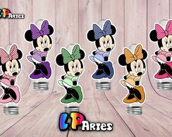 Aplique Minnie coloridas