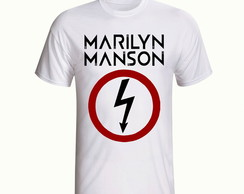 Camiseta Marilyn Manson Banda Rock
