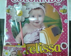 Kit de colorir com foto