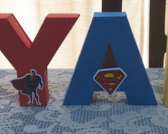 Letras 3D Superman