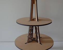 Suporte Doces Torre Eiffel 3 Andares