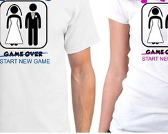Camisetas Game Over Start A New Game
