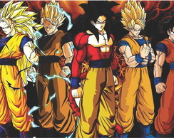 PAINEL DRAGON BALL LONA - 1,5M X1,0M