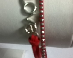 Pulseira da amizade best friends - love