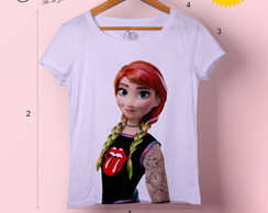 T-shirt feminina Anna Rock and Roll