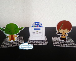 Aplique 3D Star Wars cute