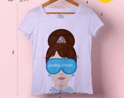 T-shirt feminina Audrey Loading Dream