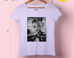 T-shirt feminina Audrey & Marilyn Tattoo