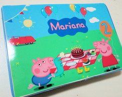 Estojo Colorir Peppa Pig