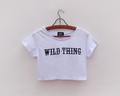 Camiseta Cropped Wild Thing
