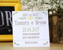 Save the Date Magnético 10x10