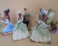 KIT DISPLAY PRINCESA TIANA