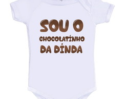 Body Divertido Chocolatinho da Dinda