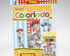 Kit Colorir Toy Story + Brindes