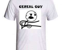 CAMISETA MEME CEREAL GUY