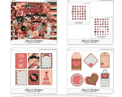 Kit Digital Rock You Valentine Bundle