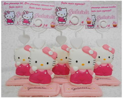 porta recado/ foto Hello Kitty