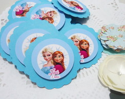 Tag Scrap Frozen Anna Elsa