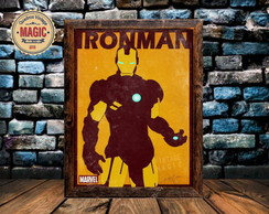 Quadro Vintage Iron Men 01 Rêtro