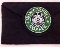 Clutch com Bordado Winterfell LJ4